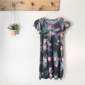 GAP Hawaiian Print Cotton Dress XS